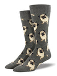 Men's Pugs Graphic Socks
