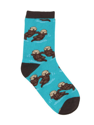 Kid's Significant Otter Graphic Socks