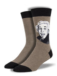 Men's Einstein Portrait Graphic Socks