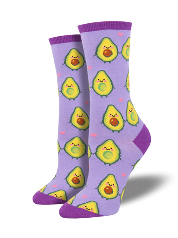 Ladies You Guac My World Graphic Socks