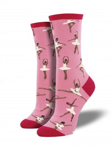 Ladies Ballet People Graphic Socks