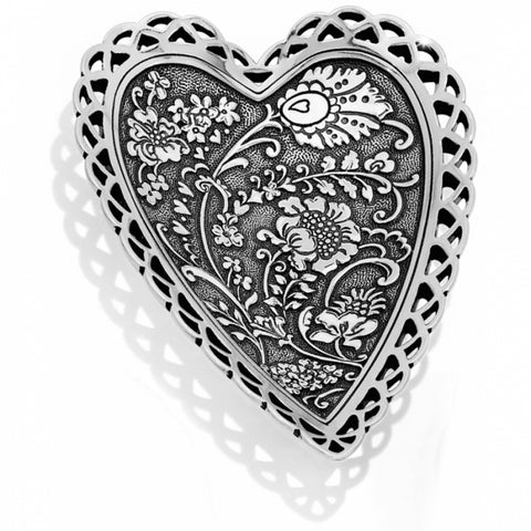 Brighton Garden Heart Trinket Tray