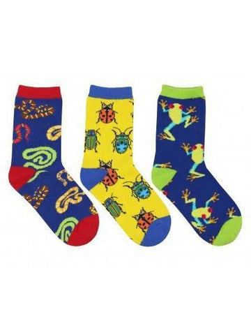 Kid's Science Camp Graphic Socks 3-Pack