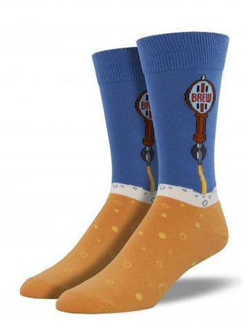 Men's Beer Taps Graphic Socks