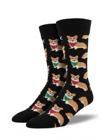 Men's Corgi Graphic Socks