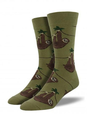 Men's Sloth Graphic Socks