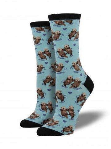 Ladies Significant Otter Graphic Socks