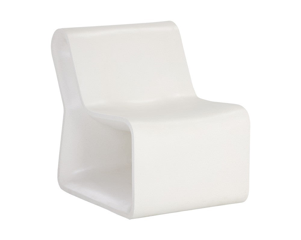 Odyssey Lounge Chair - White & Gray