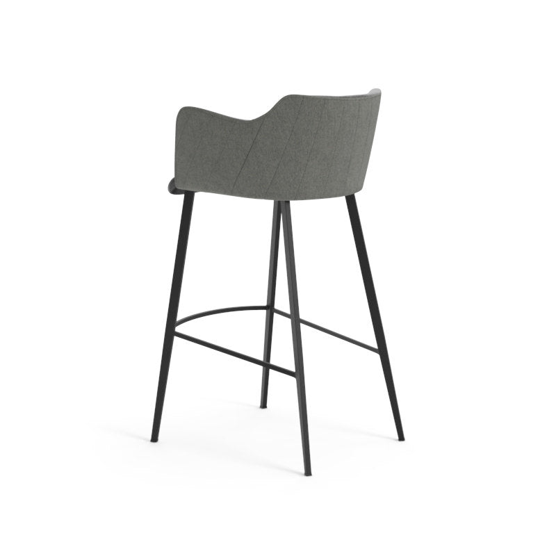 Griffin Bar Stool - Town Grey / Roman Grey