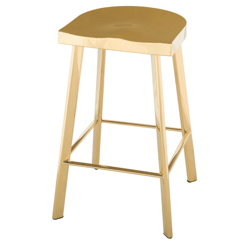 Icon Bar Stool / Counter Stool - Gold