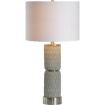 kanata Grey Cement Table Lamp