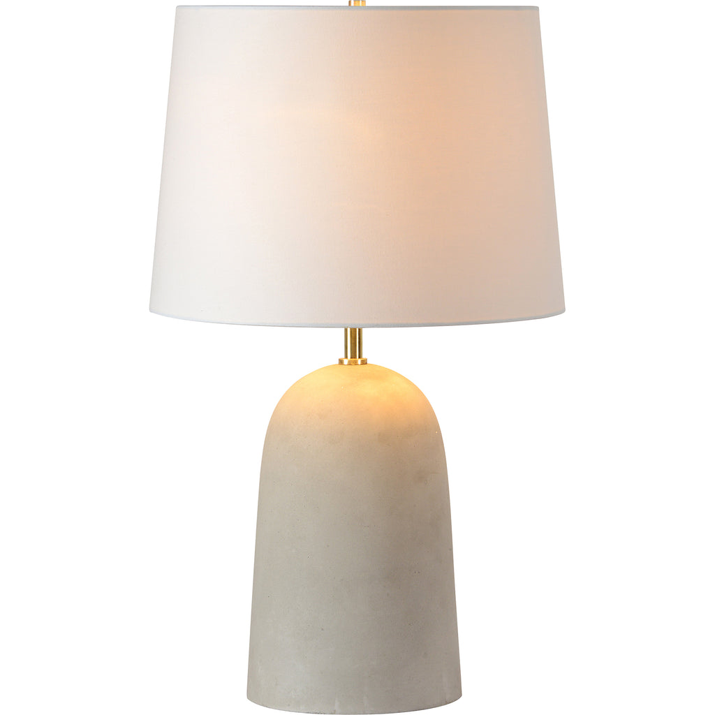 Montoya Grey Concrete Table Lamp