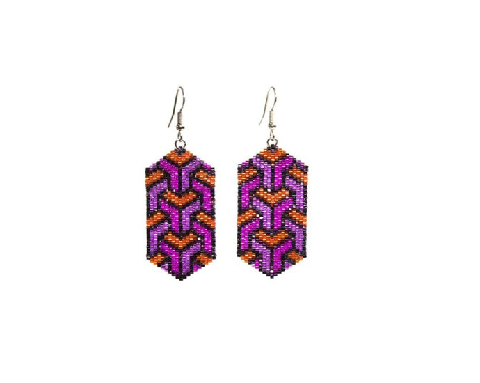 Alicia Wiese, Geometric Earrings