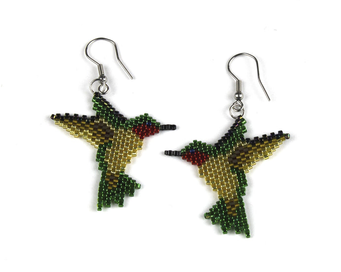 Alicia Wiese, Hummingbird Earrings
