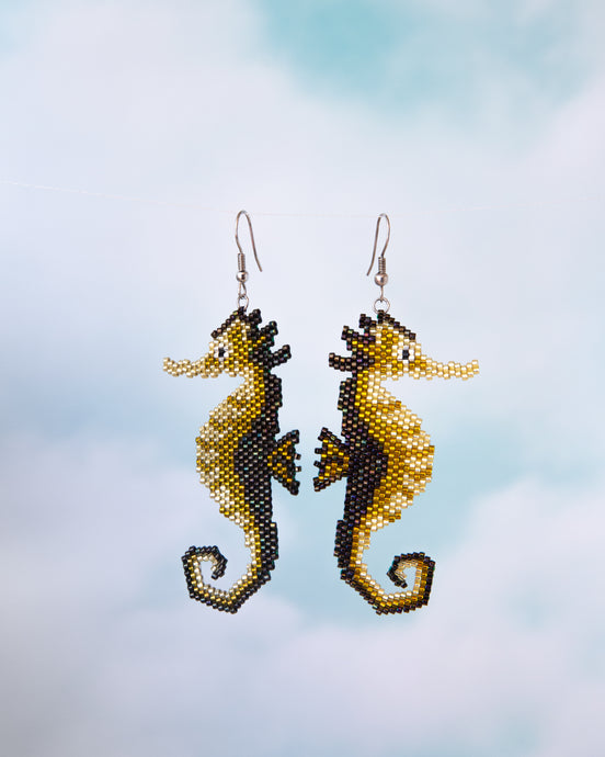 Alicia Wiese, Seahorse Earrings