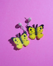 Load image into Gallery viewer, Alicia Wiese, Butterfly Earrings