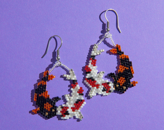 Alicia Wiese, Koi Earrings