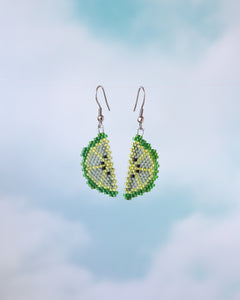 Alicia Wiese, Lime Slice Earrings