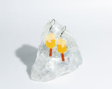 Load image into Gallery viewer, Alicia Wiese, Orange Creamsicle Earrings