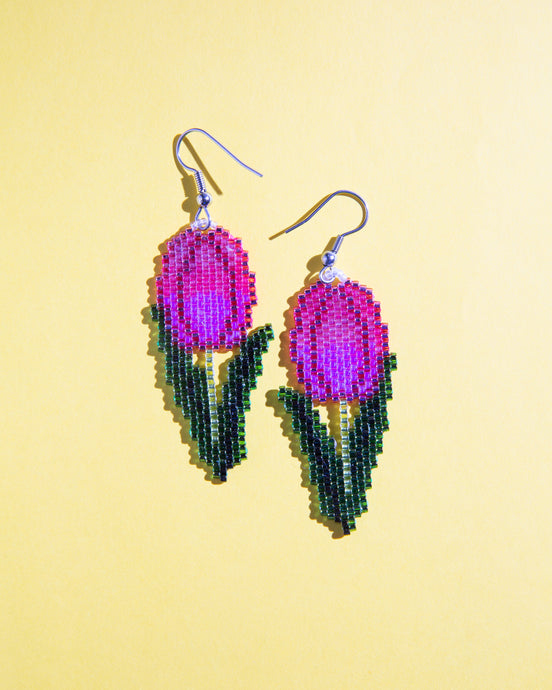 Alicia Wiese, Tulip Earrings