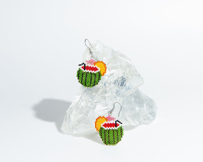 Alicia Wiese, Watermelon Cocktail Earrings