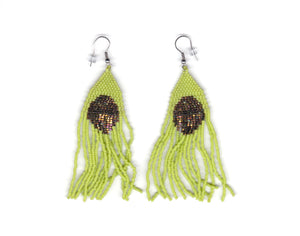 Alicia Wiese, Beaded Circle Earrings