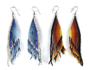 Alicia Wiese, Beaded Earrings