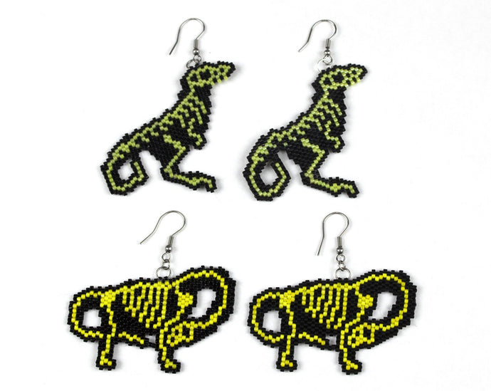 Alicia Wiese, Dinosaur Earrings