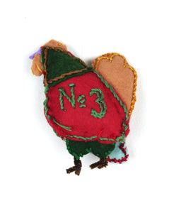 "Briana Shelstad, ""No. 3"" Ornament"