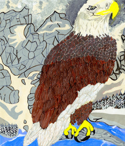 "Daniel Metchnek, ""Mountain Eagle"""