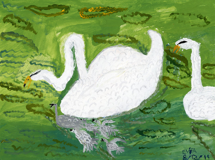 Evita Newman, Untitled (Swans)