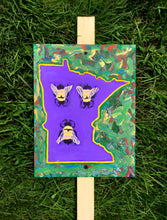 "Load image into Gallery viewer, Mike Harris Jr., ""MN Bees"" Garden Sign"