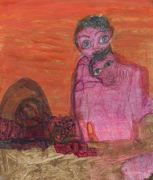 Janice Essick, Untitled (Figures in Pink)