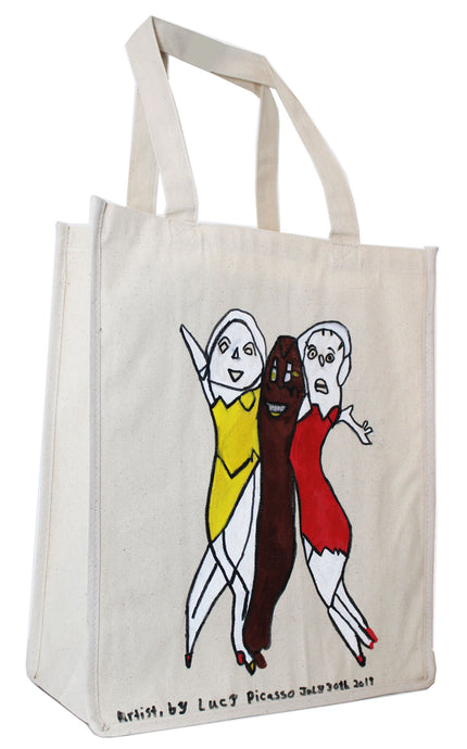Lucy Picasso, Tote Bag