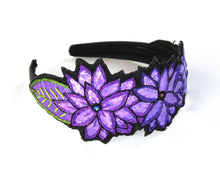 Load image into Gallery viewer, Linda Strong, Embroidered Headband