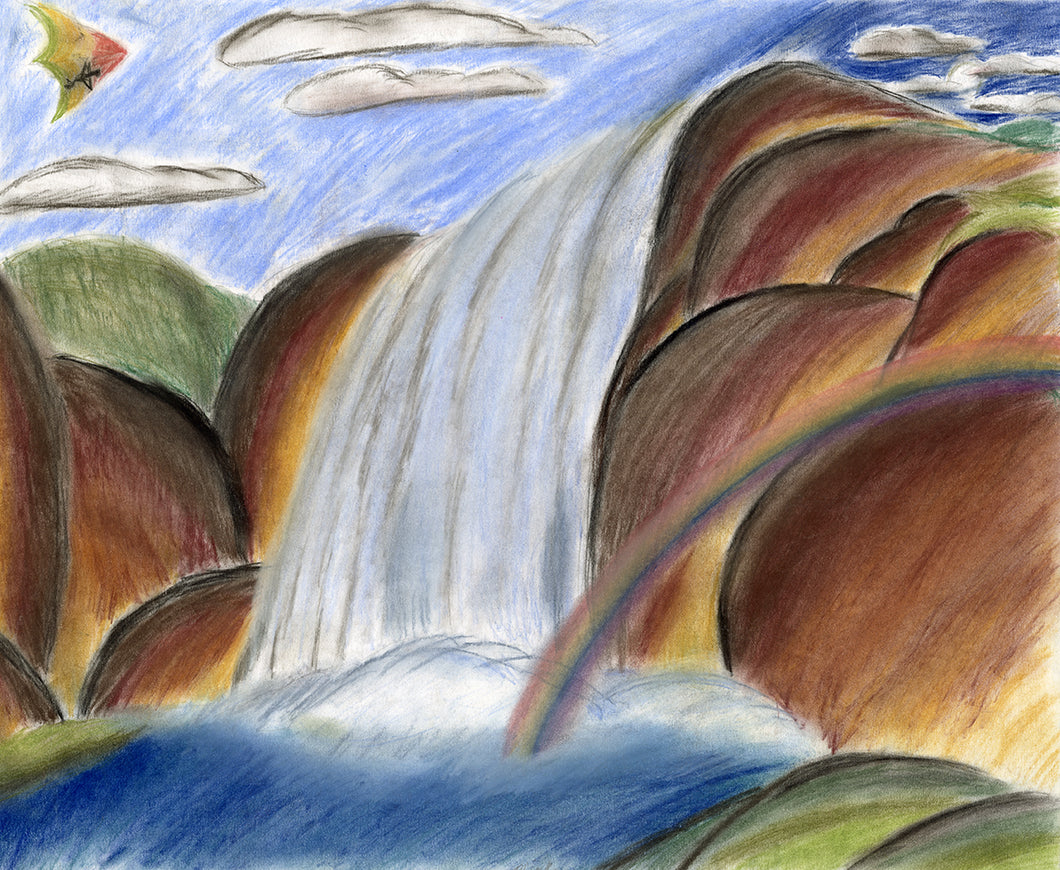 Philip Price, Untitled (Waterfall)
