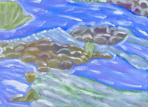 "Rosemary Perronteau, ""Rocks and Rapids"""