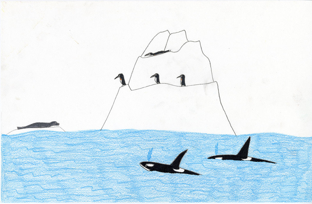 Thai Bao Pham, Untitled (Orcas, Penguins, Seal)