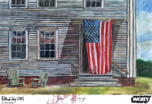 "Victor Van, ""Fifth of July (2001) by A. Hale Johnson"""