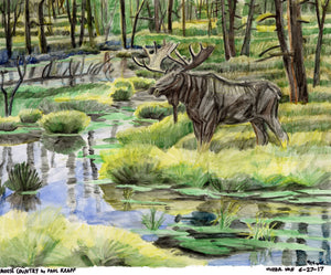 "Victor Van, ""Moose Country by Paul Krapf"""