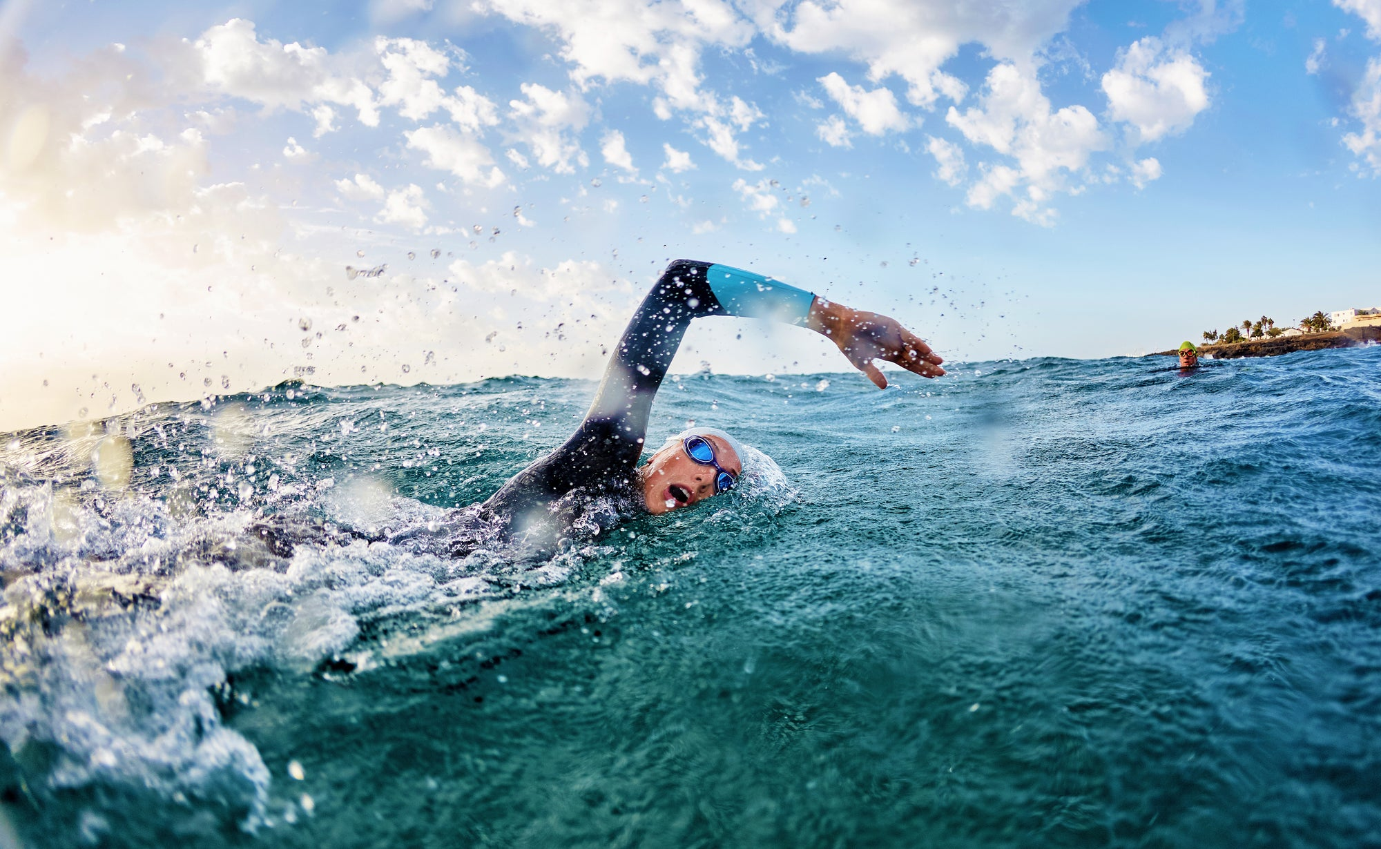 Distance per Stroke vs Cadence in Triathlon Swimming