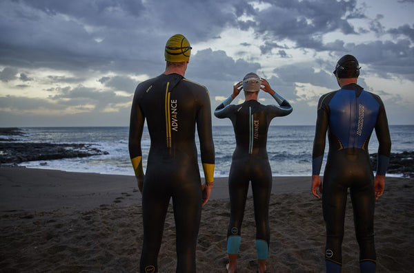 f35b78f004 Swimming in a Triathlon Wetsuit  A Beginners Guide