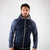 Men's Hybrid Puffa Quilted Jacket pose