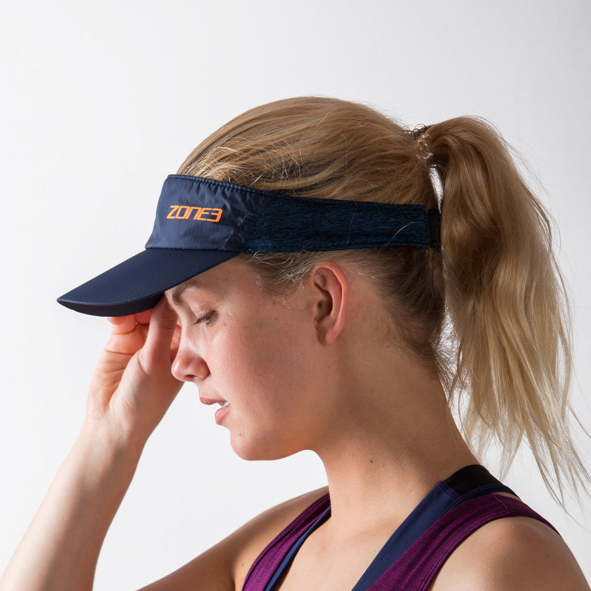 Lightweight Race Visor for Training and Racing front