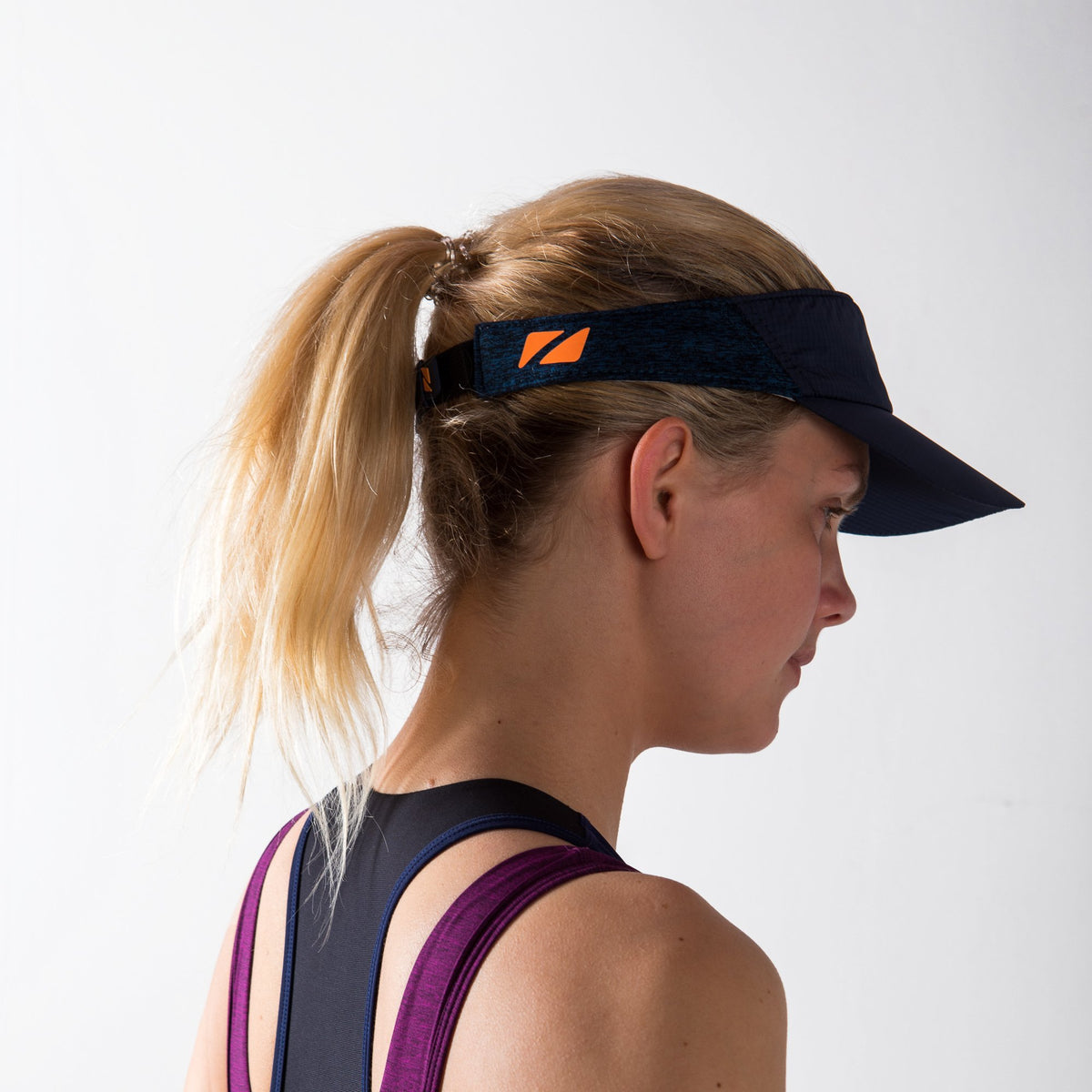 Lightweight Race Visor for Training and Racing back