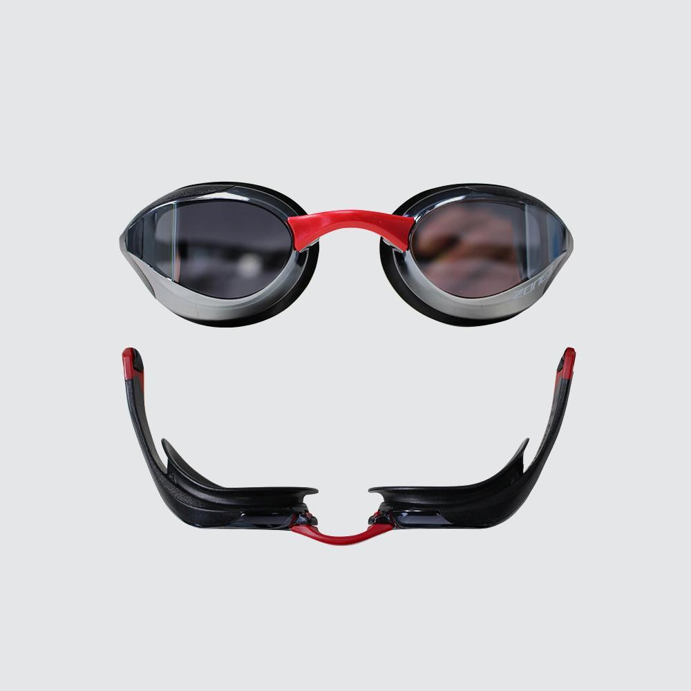 Volare Streamline Racing Swim Goggles red side