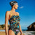 Women's Strap Back Swim Suit