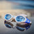 Apollo Swim Goggles blue wet