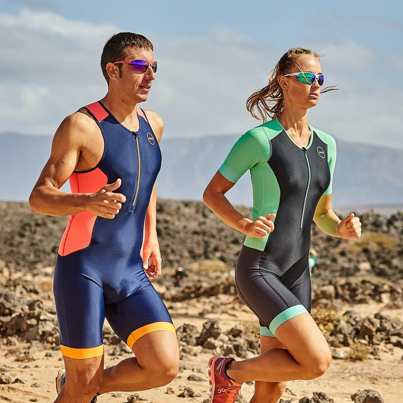 Women's Aquaflo Plus Short Sleeve Trisuit duo