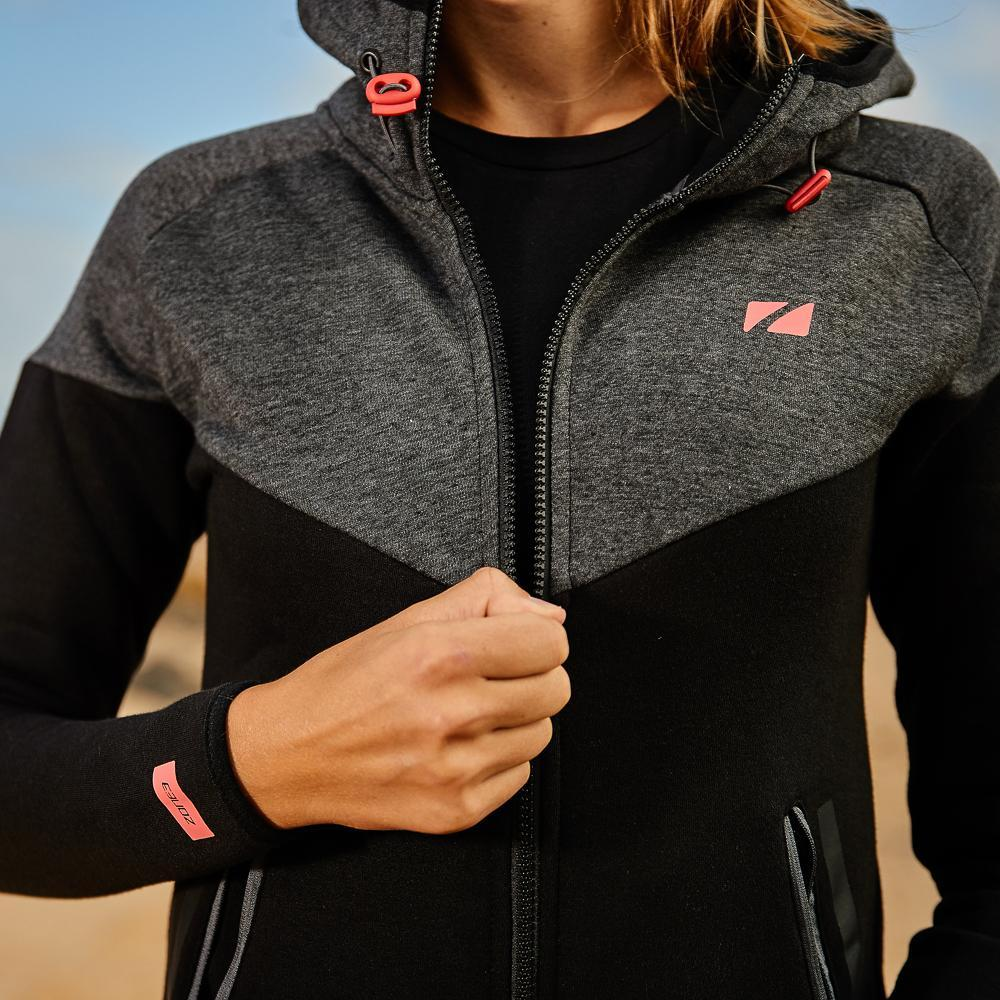 Women's Cotton Casual Hoodie zip